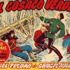Tebeos: EL COSACO VERDE Nº97 (CUADERNILLO ORIGINAL) FERNANDO COSTA Y VÍCTOR MORA. EDITORIAL BRUGUERA. Lote 6846325