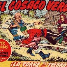 Tebeos: EL COSACO VERDE Nº100 (CUADERNILLO ORIGINAL) FERNANDO COSTA Y VÍCTOR MORA. EDITORIAL BRUGUERA. Lote 8500719
