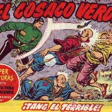 Tebeos: EL COSACO VERDE Nº131 (CUADERNILLO ORIGINAL) FERNANDO COSTA Y VÍCTOR MORA. EDITORIAL BRUGUERA. Lote 6847743