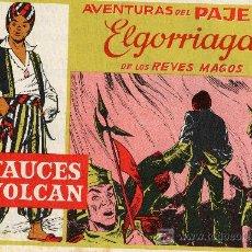 Tebeos: AVENTURAS DEL PAJE ELGORRIAGA DE LOS REYES MAGOS. TEBEO PUBLICITARIO DEL CHOCOLATE ELGORRIAGA . Lote 6914485