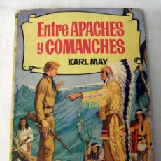 Livros de Banda Desenhada: ENTRE APACHES Y COMANCHES KARL MAY COL HISTORIAS Nº 200 ED BRUGUERA 1965. Lote 6948331