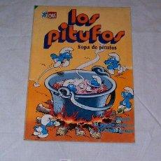 Tebeos: LOS PITUFOS · SOPA DE PITUFOS · BRUGUERA · 1981. Lote 7070794