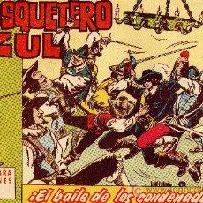 Tebeos: EL MOSQUETERO AZUL Nº 5 (CUADERNILLO ORIGINAL). EDITORIAL BRUGUERA 1962. DIBUJOS DE MANUEL GAGO. Lote 7103436