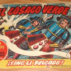 Tebeos: EL COSACO VERDE - ED BRUGUERA - ORIGINAL - SUPER AVENTURAS - N. 30 - SING LI PESCADO. . Lote 7347050