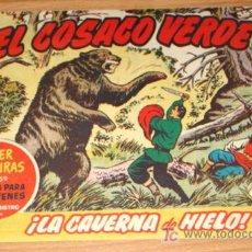 Tebeos: EL COSACO VERDE - ED BRUGUERA - ORIGINAL - SUPER AVENTURAS - N. 60 - LA CAVERNA DE HIELO.. Lote 7347081