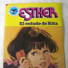 Tebeos: ESTHER JOYAS LITERARIAS FEMENINAS Nº 106 EL ENFADO DE RITA EDITORIAL BRUGUERA 1985. Lote 198780253