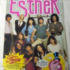 Tebeos: ESTHER TU MEJOR AMIGA Nº 108 EDITORIAL BRUGUERA 1985 CON PÓSTER FAMA. Lote 7567087