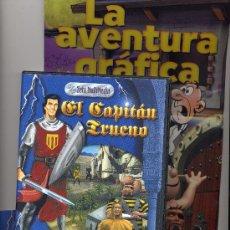 Tebeos: EL CAPITÁN TRUENO (EN LA MONTAÑA DE LOS SUSPIROS) CD PARA WINDOWS. Lote 27098749