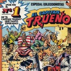 Tebeos: EL CAPITÁN TRUENO Nº1 (EDICIÓN PARA COLECCIONISTAS). Lote 7590543