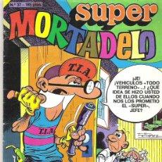 Tebeos: SUPER MORTADELO - NUM 37 *** 1987. Lote 7593914