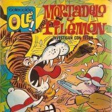 Tebeos: COLECCION OLE 1ª EDICION Nº 64 MORTADELO Y FILEMON. Lote 7614621