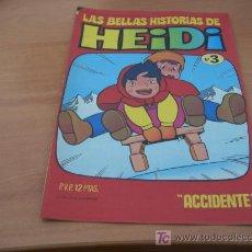 Tebeos: LAS BELLAS HISTORIAS DE HEIDI. Nº 3 (BRUGUERA) (COIB36). Lote 10807466