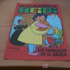 Tebeos: LAS BELLAS HISTORIAS DE HEIDI. Nº 17 (BRUGUERA) (COIB36). Lote 7666349