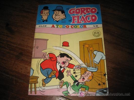 EL GORDO Y EL FLACO Nº18 EL CACHORRO (Tebeos y Comics - Bruguera - El Cachorro)