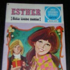 Tebeos: TEBEO ESTHER Nº 9 - RITA TIENE NOVIO - 1ª EDICION 1978. Lote 7762546