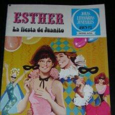 Tebeos: TEBEO ESTHER Nº 10 - LA FIESTA DE JUANITO - 1ª EDICION 1978. Lote 7762547