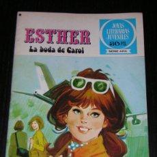 Tebeos: TEBEO ESTHER Nº 17 - LA BODA DE CAROL - 1ª EDICION 1978. Lote 7762555