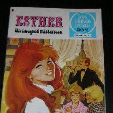 Tebeos: TEBEO ESTHER Nº 19 - UN HUESPED MISTERIOSO - 1ª EDICION 1978. Lote 7762561