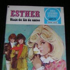 Tebeos: TEBEO ESTHER Nº 20 - VIAJE DE FIN DE CURSO - 1ª EDICION 1978. Lote 7762562