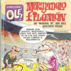 Tebeos: MORTADELO Y FILEMON - MUNDIAL 78 COLECCION OLE PRIMERA EDICION 1988 NUM 149 -M . 82. Lote 7785609