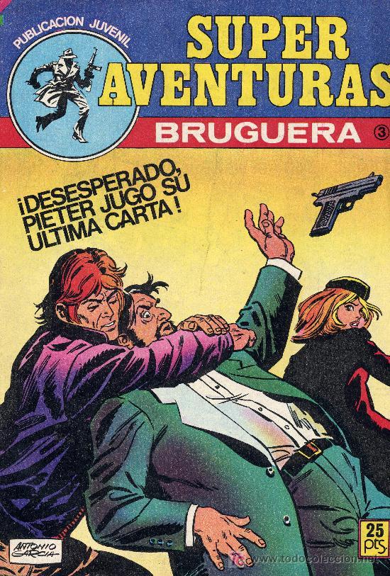 SUPER AVENTURAS Nº3 (EDITORIAL BRUGUERA, 1978) (Tebeos y Comics - Bruguera - Otros)