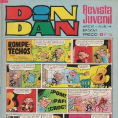 Tebeos: COMIC DIN-DAN Nº144. Lote 7871131