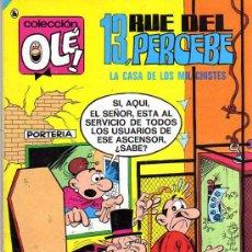 Tebeos: 13 RUE DEL PERCEBE - LA CASA DE LOS MIL CHISTES - COL. OLE Nº 23 - ED. BRUGUERA 1986. Lote 9764278