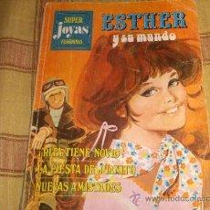 Tebeos: SUPER JOYAS FEMENINAS, ESTHER Y SU MUNDO 3. BRUGUERA 1º ED. 1978. 75 PTS. REGALO 12 CANDY.. Lote 13998137