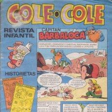 Tebeos: COLE-COLE Nº 38. HISTORIETAS Y PASATIEMPOS. 50 PTAS. EDITORIAL BRUGUERA.. Lote 8082686