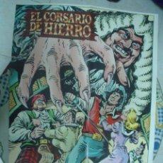 Tebeos: EL CORSARIO DE HIERRO ¡¡MAGNÍFICO POSTER DE AMBRÓS!!. Lote 181726683