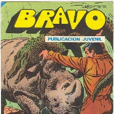 Tebeos: BRAVO Nº 70 - INSPECTOR DAN 35 - BRUGUERA 1976. Lote 27093313
