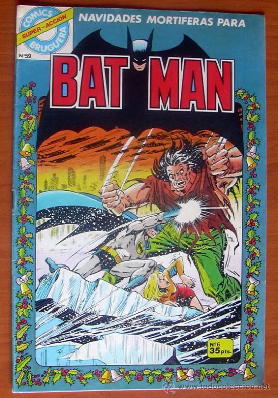 COMICS BRUGUERA - BAT MAN Nº 6 (Tebeos y Comics - Bruguera - Otros)