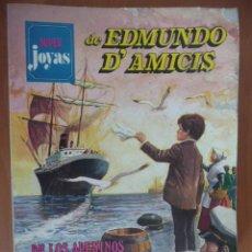 Tebeos: SUPER JOYAS DE EDMUNDO D'AMICIS. Nº 1. BRUGUERA. Lote 26158115