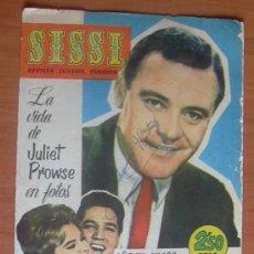 Tebeos: SISSI, REVISTA FEMENINA, Nº 189 - EDITORIAL BRUGUERA 1958. Lote 8480914