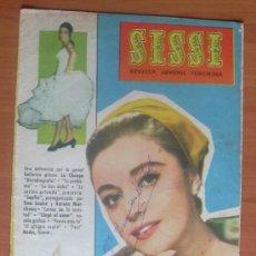 Tebeos: SISSI, REVISTA FEMENINA, Nº 191 - EDITORIAL BRUGUERA 1958. Lote 8480917