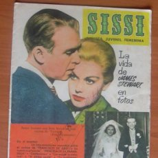 Tebeos: SISSI, REVISTA FEMENINA, Nº 199 - EDITORIAL BRUGUERA 1958. Lote 8480966