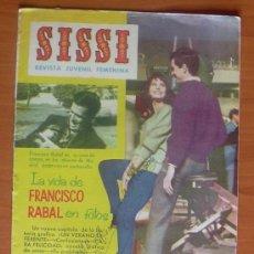 Tebeos: SISSI, REVISTA FEMENINA, Nº 211 - EDITORIAL BRUGUERA 1958. Lote 8481014