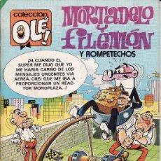 Tebeos: COLECCION OLE -- Nº 279 -- MORTADELO Y FILEMON + ROMPETECHOS -- 1ª EDICIÓN . Lote 8558955
