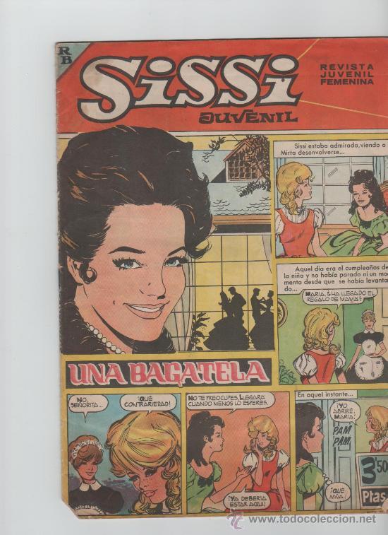 SISSI REVISTA JUVENIL FEMENINA (Tebeos y Comics - Bruguera - Sissi)