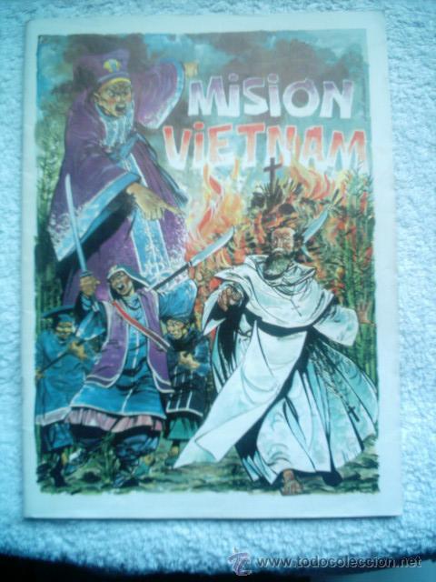 mision vietnam.40 paginas color .dibujos jesus - Comprar Tebeos ...