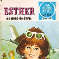 Tebeos: COMIC ESTHER LA BODA DE CAROL Nº 17. Lote 8843400