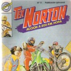 Tebeos: TEX NORTON - RECORD EN HOLLYWOOD ** Nº 11 BRUGUERA. Lote 8867884