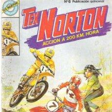Tebeos: TEX NORTON - GANGSTER MOTORIZADOS ** Nº 6 BRUGUERA. Lote 8867899