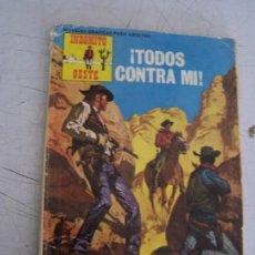 Tebeos: INDOMITO OESTE-Nº. 9- ¡TODOS CONTRA MI!-PRODUCCIONES EDITORIALES- 1971?-CON 64 PÁG.. Lote 21306495