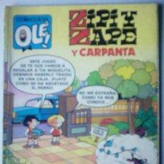 Tebeos: COLECCIÓN OLÉ - ZIPI Y ZAPE Y CARPANTA Nº 210-Z . 62. Lote 25858853