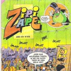 Tebeos: ZIPI ZAPE Nº 616 MARZO 1985. Lote 9123928
