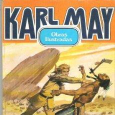 Tebeos: KARL MAY - 2 AVENTURAS Nº 1 BRUGUERA 1982. Lote 11596605