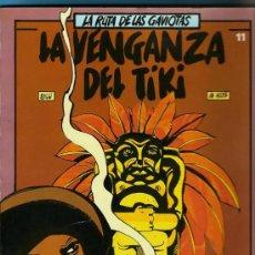 Tebeos: COMIC LOS JET DE BRUGUERA LA RUTA DE LAS GAVIOTAS 11-LA VENGANZA DEL TIKI-NUEVO. Lote 26309212