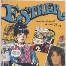 Tebeos: ESTHER - Nº 18 - BRUGUERA 1982 - CON POSTER EMMANUEL. Lote 23117735