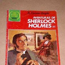 Tebeos: AVENTURAS DE SHERLOCK HOLMES II, C. DOYLE. JOYAS LITERARIAS JUVENILES Nº 268. BOSCH, CREMONA Y VIVAS. Lote 25921708